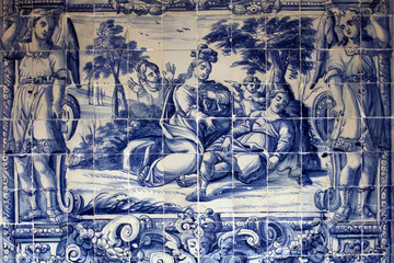 Toledo - Decorative tilework typically takes the form of mosaic