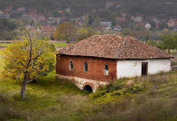 Old Serbian house