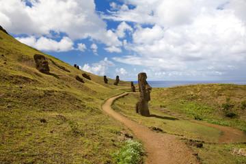 Landscape at easter island