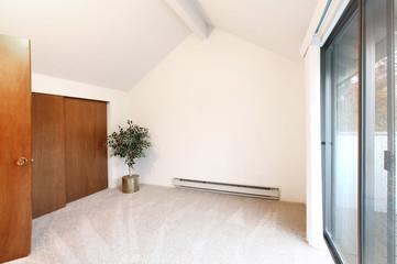Empty room, bedroom