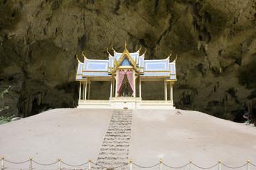 Phraya Nakorn cave in Hua Hin,Thailand. Khao Sam Roi Yot.