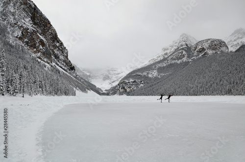 Lake Louise, ice skating