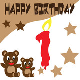 Birthday Teddy Bear Wallpaper