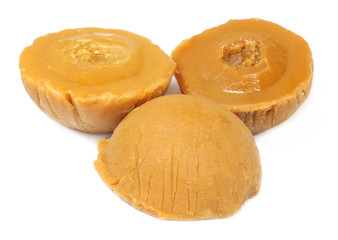 Hard molasses or Patali gur of South East Asia