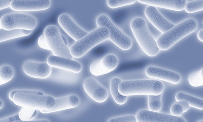 Tile-able Bacteria Background 3D Abstract