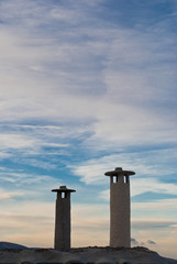 Chimeneas en la Alpujarra