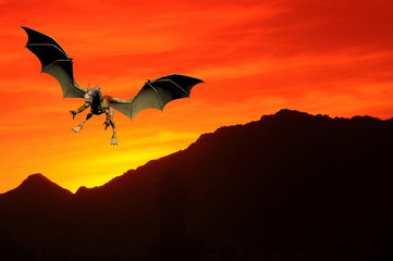 Sunset Dragon