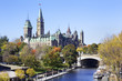 The Parliament of Canada and Rideau Canal, Ottawa