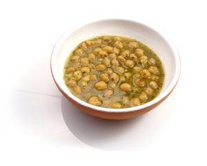 Zuppa di ceci - Chickpea soup
