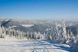 Stok narciarski - Pec pod Śnieżką - Czechy poster