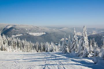 Stok narciarski - Pec pod Śnieżką - Czechy