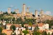 View of san gimignano, Tuscany, Italy.
