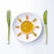 Soleil d'orange à déguster