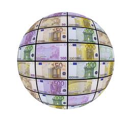 Esfera de billetes