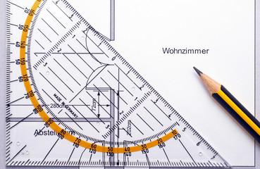 Wohnzimmer Planung - Der Umzug