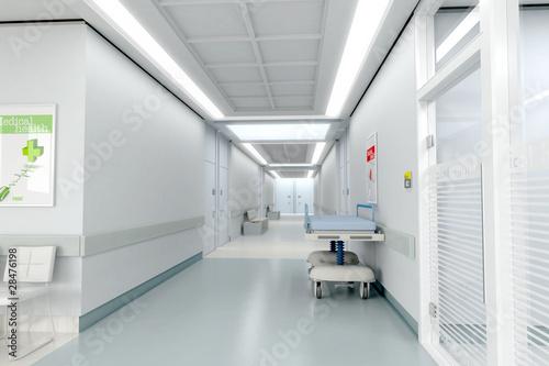 Hospital corridor - 28476198