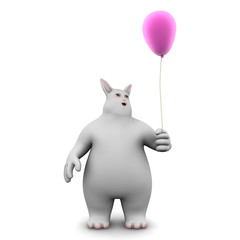the bunny - balloon