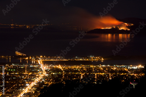 Angel Island Fire