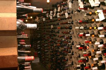 Bodega de botellas de vino