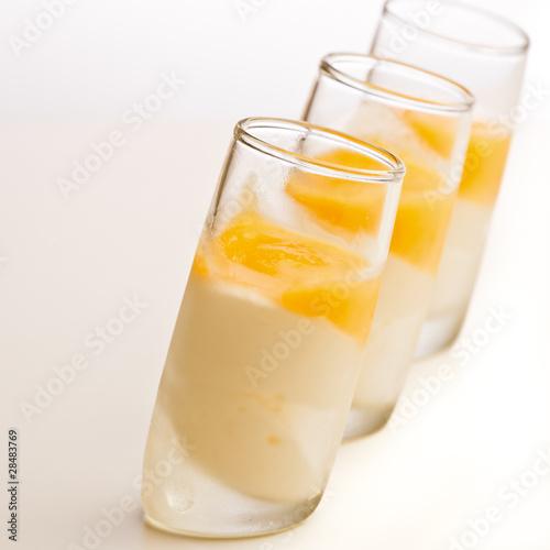 blanc manger orange