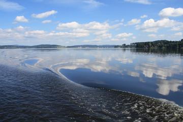 Lipno lake, Czech Republic