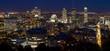 Montreal skyline at night, Canada