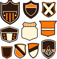 emblem badge shield symbol shape