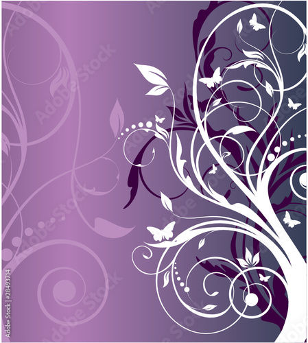 floral abstraction for your design
