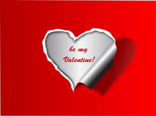 Valentine day ' s card