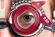 Leinwandbild Motiv Refraktionsbrille, Optik