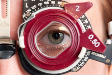 Refraktionsbrille, Optik