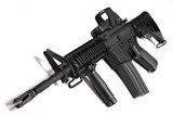 Modern army weapon. M4 RIS carbine. poster