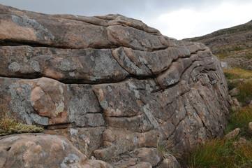 Steinformationen, Pass of the Cattle, Schottland