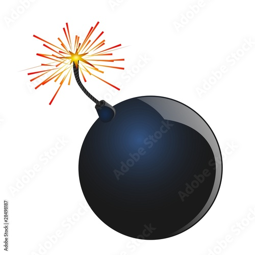 Illustration of a Bomb
