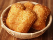sesame dough fritters