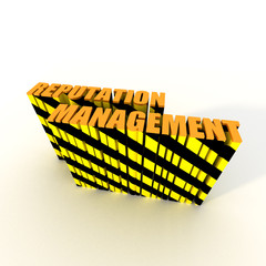 Reputation Management Caution