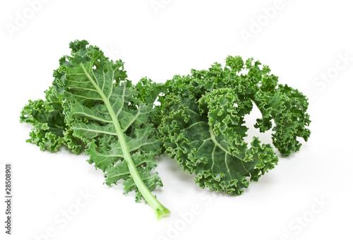Fotobehang Groenten Kale