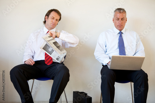 Waiting for a job interview 2