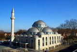 Biggest mosque of Germany Marxloh Duisburg Moschee poster
