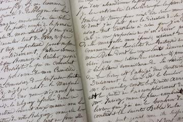 Manuscrit (fin 19eme siècle)