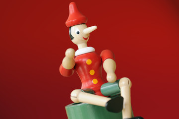 Red Pinocchio