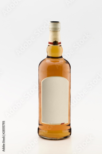 Botella de whisky