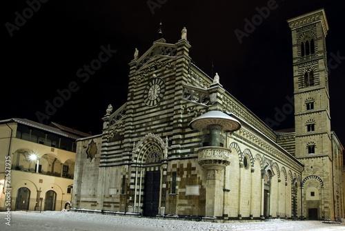 Toscana, Prato: Duomo e Palazzo Vescovile Poster