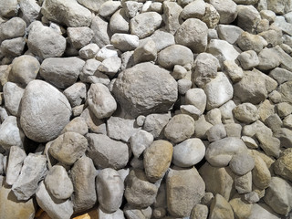 Stones as background
