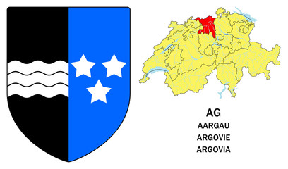 Cantoni della Svizzera: Argovia (Aargau, Argovie)
