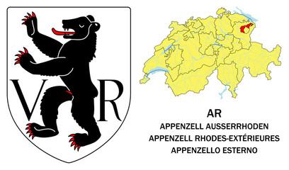 Cantoni della Svizzera: Appenzello Est. (Appenzell Ausserrhoden)
