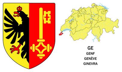 Cantoni della Svizzera: Ginevra (Genf, Genève)