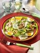 salade de pois chiches et fenouil avec du thon