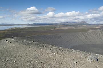 Volcán de Hverfjall (Islandia)