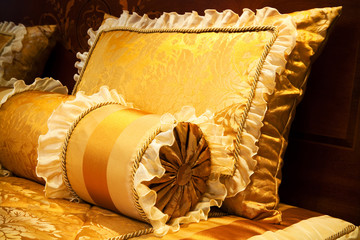 yellow pillows
